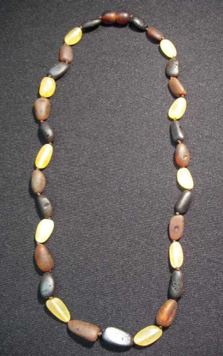 Amber - Nugget Necklace big
