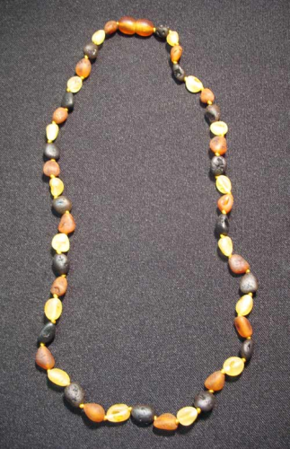 Amber - Nugget Necklace small