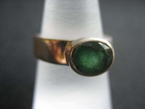 Emerald  Ring - Number 1 - Size 17,5 mm