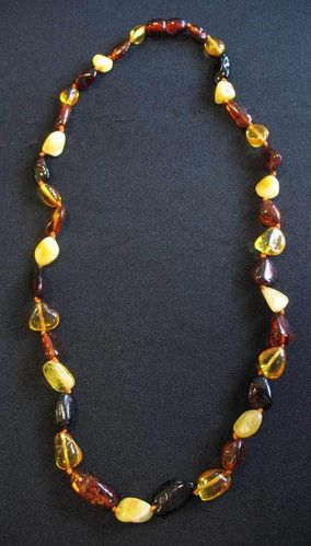 Amber - Necklace - Nugget - Mixed Colour