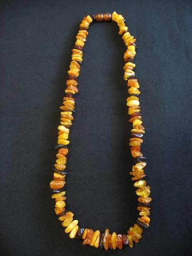 Amber - Necklace - 45 cm - mixed colours