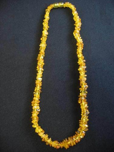 Amber - Necklace - 45 cm - light colour