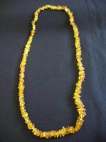 Amber - Necklace - 70 cm - light colour