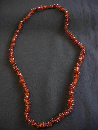 Amber - Necklace - 70 cm - medium