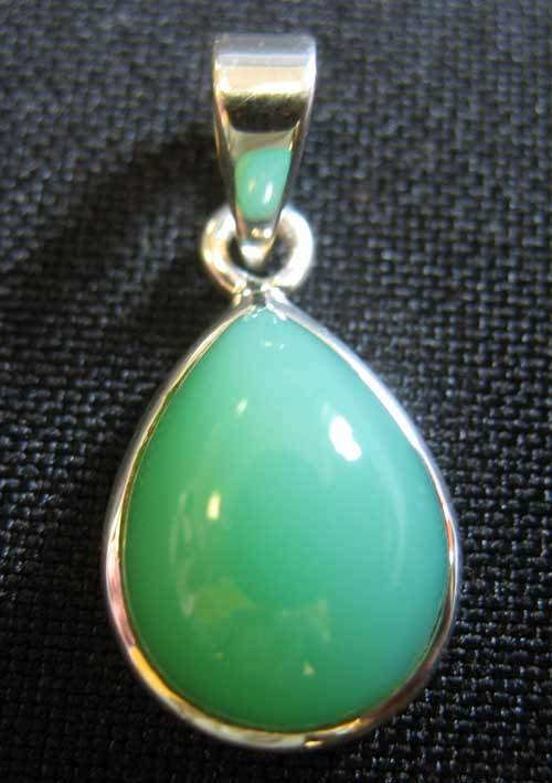Chrysoprase Pendant Number 1 Nice